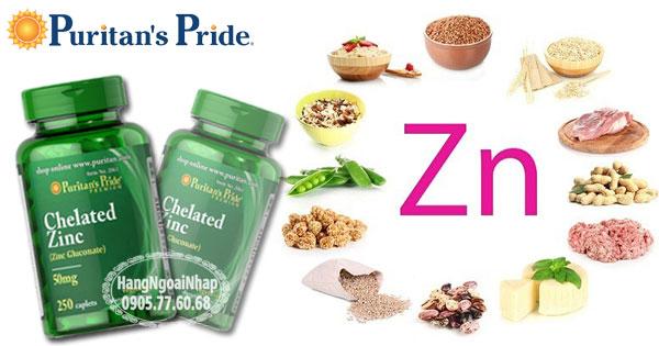 Với mỗi viên uống Puritan's Pride Zinc Chelate 50mg bạn đã bổ sung vào cơ thể gấp khoảng 333% giá trị khuyến cáo hàng ngày.