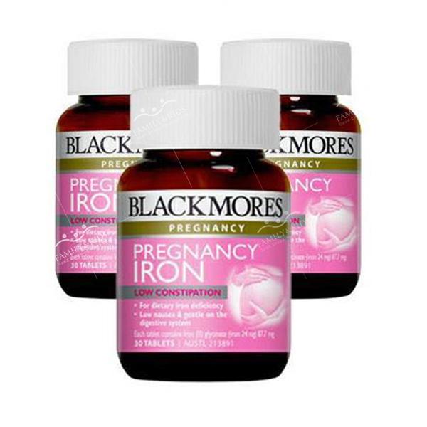 Viên uống bổ sung sắt cho bà bầu Blackmores Pregnancy Iron