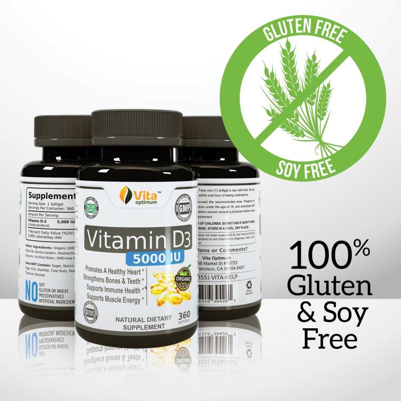 Viên uống bổ sung Vitamin D nhãn hiệu Vita optimum
