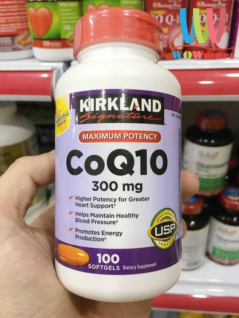 Viên uống Bổ Tim Mạch Kirkland Signature CoQ10 300 mg: