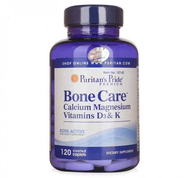Viên uống bổ xương Puritan's Pride Bone Care