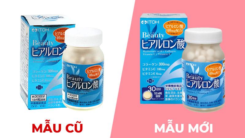 Viên uống cấp nước & làm trắng da itoh kampo hyaluronic acid collagen