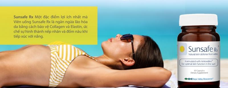 Có Sunsafe Rx không cần ngại khi mặc bikini ra biển