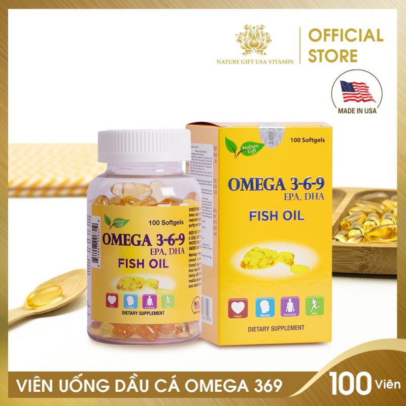 Viên Uống Dầu Cá Omega 3