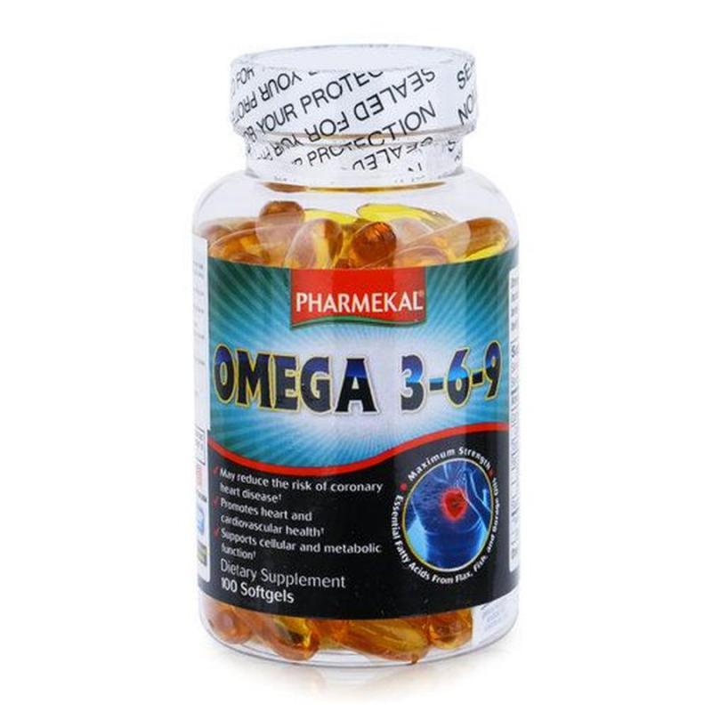 Viên uống dầu cá Pharmekal Omega 3-6-9 với công dụng bồi bổ mắt sáng, bảo vệ trái tim khoẻ mạnh. Nó còn có tác dụng chống oxy hoá cao, giúp duy trì trí nhớ, ổn định tâm lý, tăng cường miễn dịch.