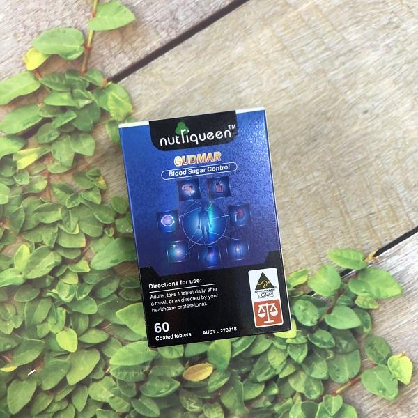 Viên uống điều hòa và kiểm soát đường huyết Nutriqueen Gudmar