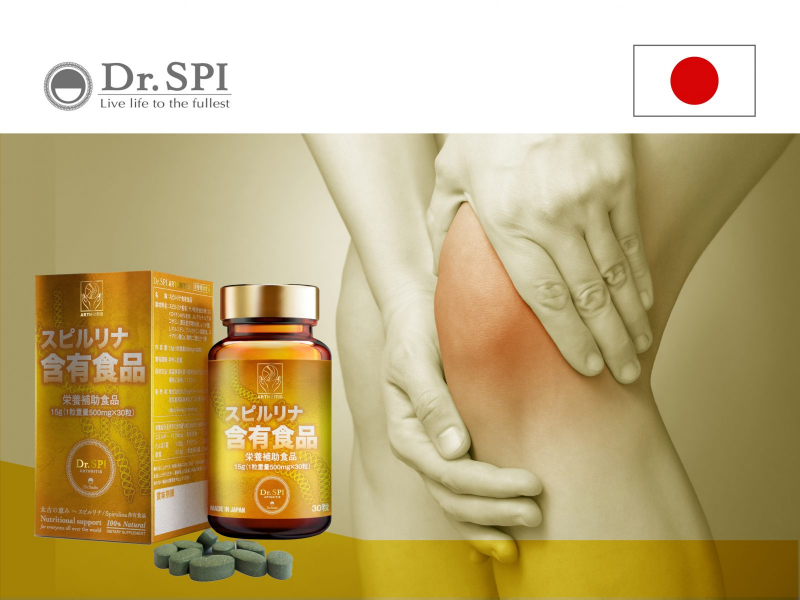 Viên uống Dr.Spi Arthritis phòng và hỗ trợ điều trị đau nhức xương khớp