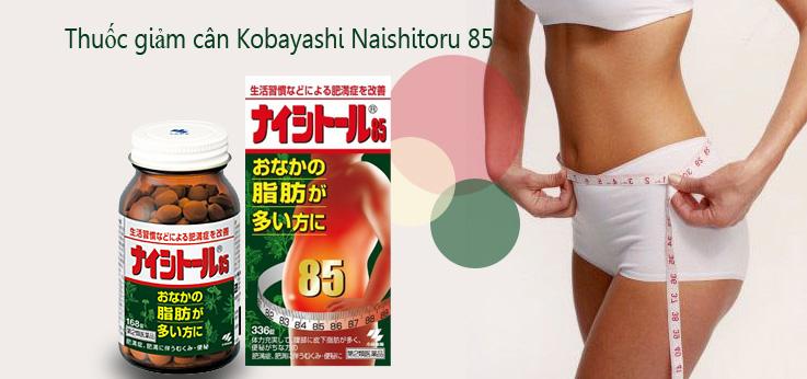 Viên giảm béo bụng Nhật Bản Naishitoru 85
