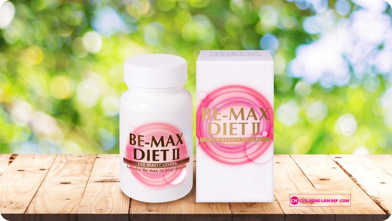 Viên Uống Giảm Cân Và Giúp Cơ Thể Thon Gọn Be-Max Diet II: