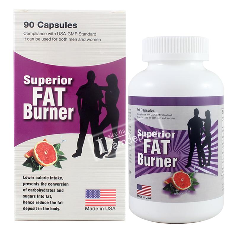 Viên uống giảm cân Superior Fat Burner