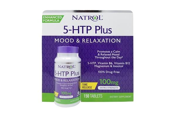 Viên uống Natrol 5 – HTP Mood & Relaxation Plus 100mg 150 viên của Mỹ