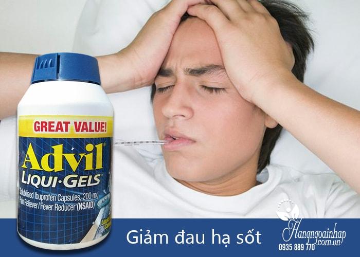 Sử dụng advil ibuprofen tablets 200mg chấm dứt nhanh chóng các cơn đau ảnh hưởng đến sức khỏe và tinh thần của bạn