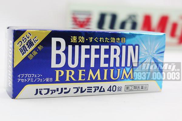 VIÊN UỐNG GIẢM ĐAU HẠ SỐT BUFFERIN PREMIUM HỘP 40 VIÊN CỦA NHẬT BẢN: