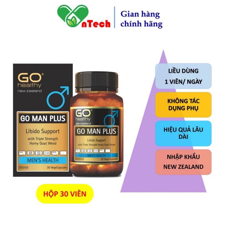 Viên uống Go Healthy Go Man Plus