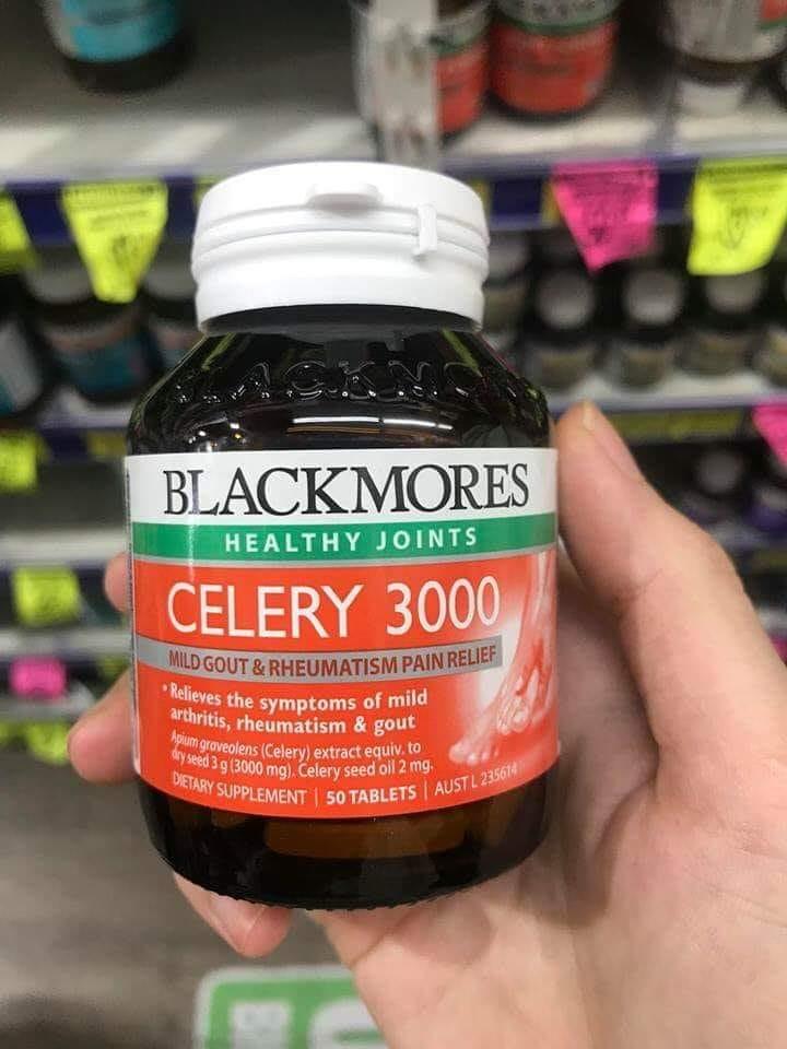 Viên uống Gout Celery hãng Blackmores