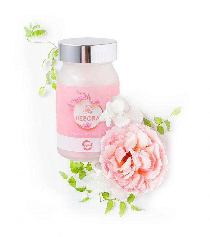 Là viên uống hàm hương nên thành phần làm nên nó cũng là những tinh túy từ thiên nhiên có mùi thơm nhẹ nhàng và quyến rũ như hoa anh đào, hoa hồng damask, hoa anh thảo, tinh chất hoa nghệ tây.
