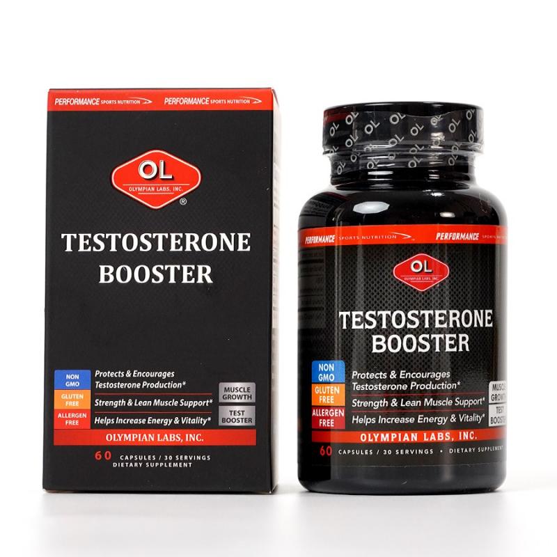 Viên Uống Hỗ Trợ Cân Bằng Và Tăng Cường Sinh Lý Nam OLYMPIAN LABS Testosterone Booster