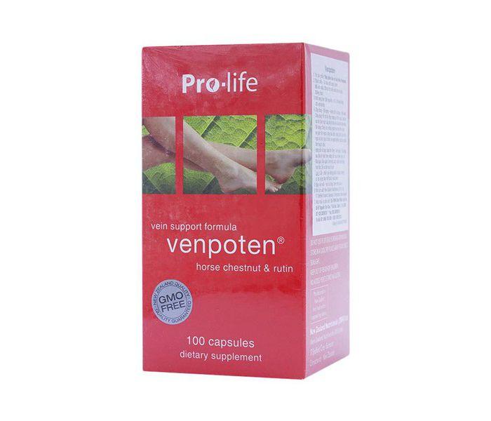 Viên uống hỗ trợ điều trị giãn tĩnh mạch Venpoten