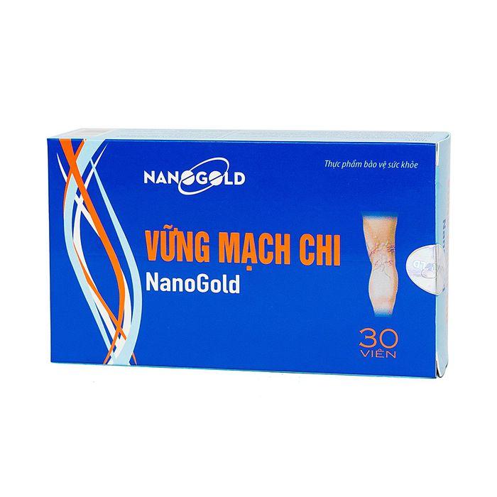 Viên uống hỗ trợ điều trị giãn tĩnh mạch Vững Mạch Chi Nanogold