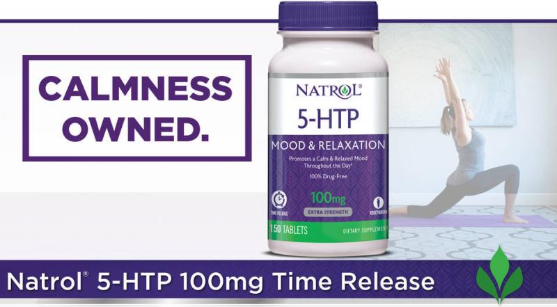 Viên uống Natrol 5-HTP Mood & Relaxation 150 viên được điều chế với thành phần từ thiên nhiên, lành tính, an toàn cho sức khỏe, không chứa  chất gây dị ứng hay gây tác dụng phụ