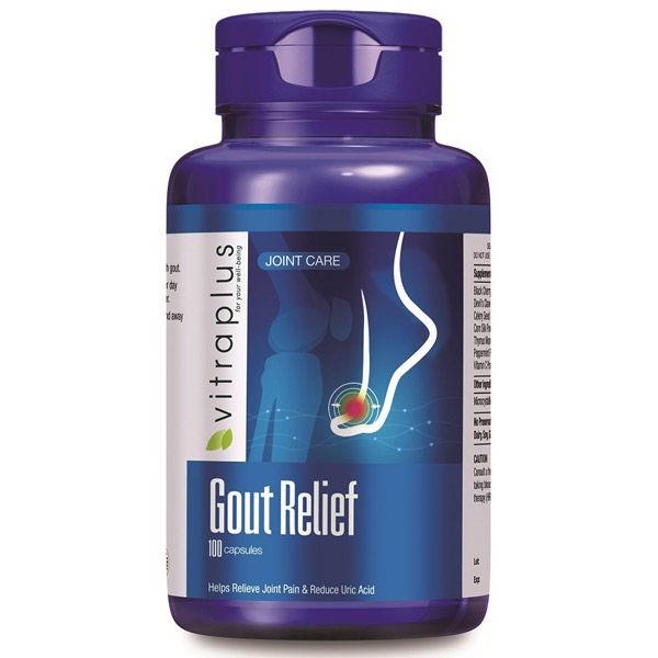 Viên uống hổ trợ kiểm soát gout VitraPlus Gout Relief