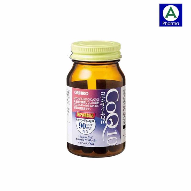 Viên uống hỗ trợ tim mạch Coenzyme Q10 Orihiro