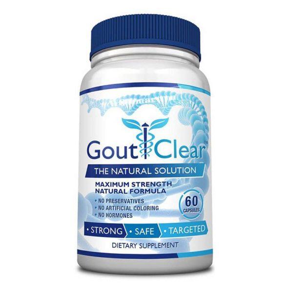 Viên uống hỗ trợ và điều trị bệnh Gout Clear