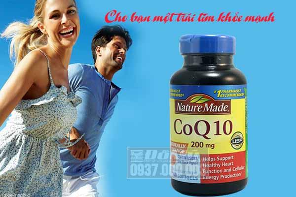 Viên uống hỗ trợ và điều trị tim mạch Nature Made® CoQ10 200mg