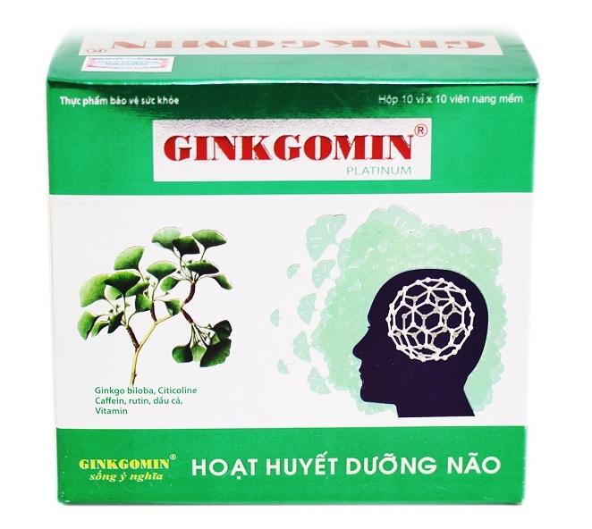 Viên Uống Hoạt Huyết Dưỡng Não Ginkgomin