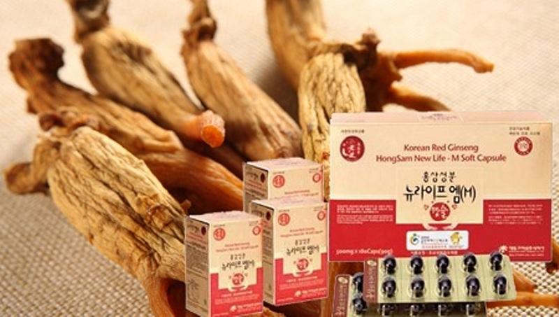 Viên uống hồng sâm Hàn Quốc bổ máu