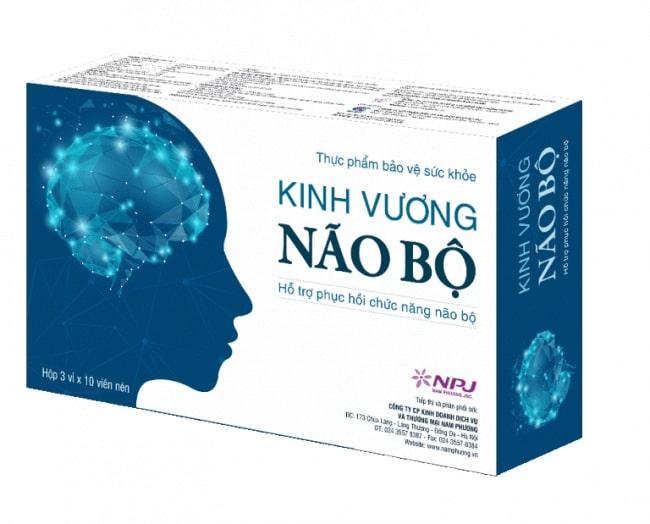 Viên uống Kinh Vương Não Bộ - Phục hồi chức năng, tăng cường hoạt động não