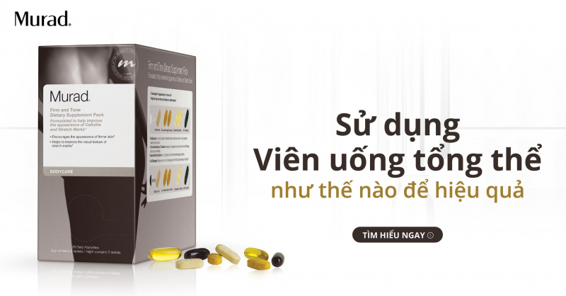 Viên Uống Murad Tổng Thể Firm And Tone Dietary Supplement Pack