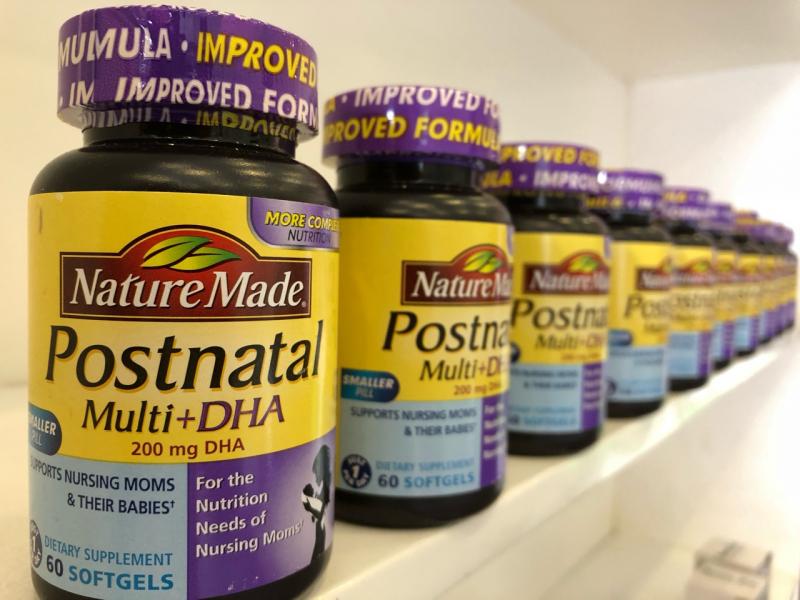 Postnatal Multi DHA 200mg giúp bảo vệ sức khỏe toàn diện cho cả mẹ và bé.