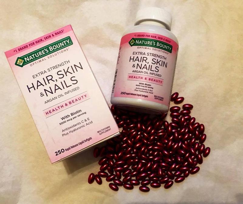 Viên uống Nature's Bounty Hair Skin Nail