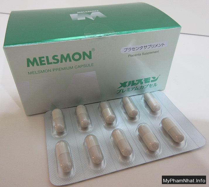 Viên Uống Nhau Thai Melsmon Premium Capsule: