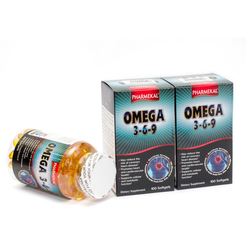 Viên uống Pharmekal Omega 3-6-9