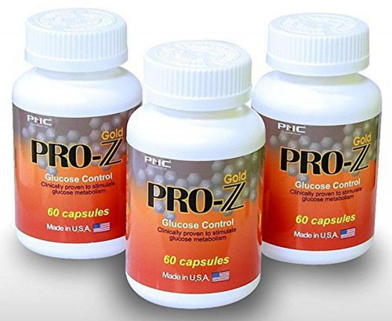 Thực phẩm chức năng Viên Uống Pro Z Gold Glucose Control