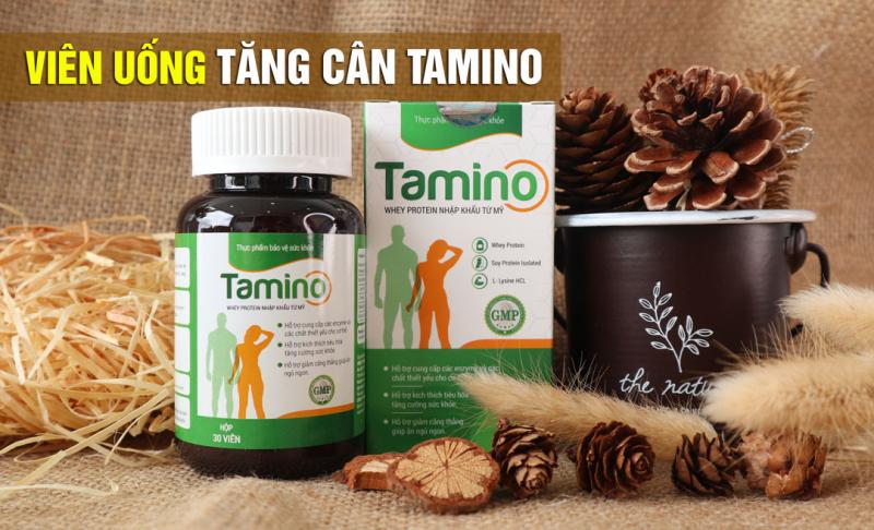 Viên Uống Tăng Cân Thảo Dược Tamino