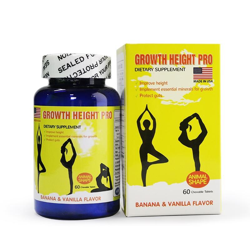 Viên Uống Tăng Chiều Cao Growth Height Pro