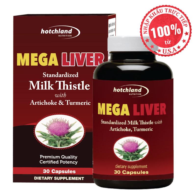 Viên uống tăng cường chức năng gan MEGA LIVER
