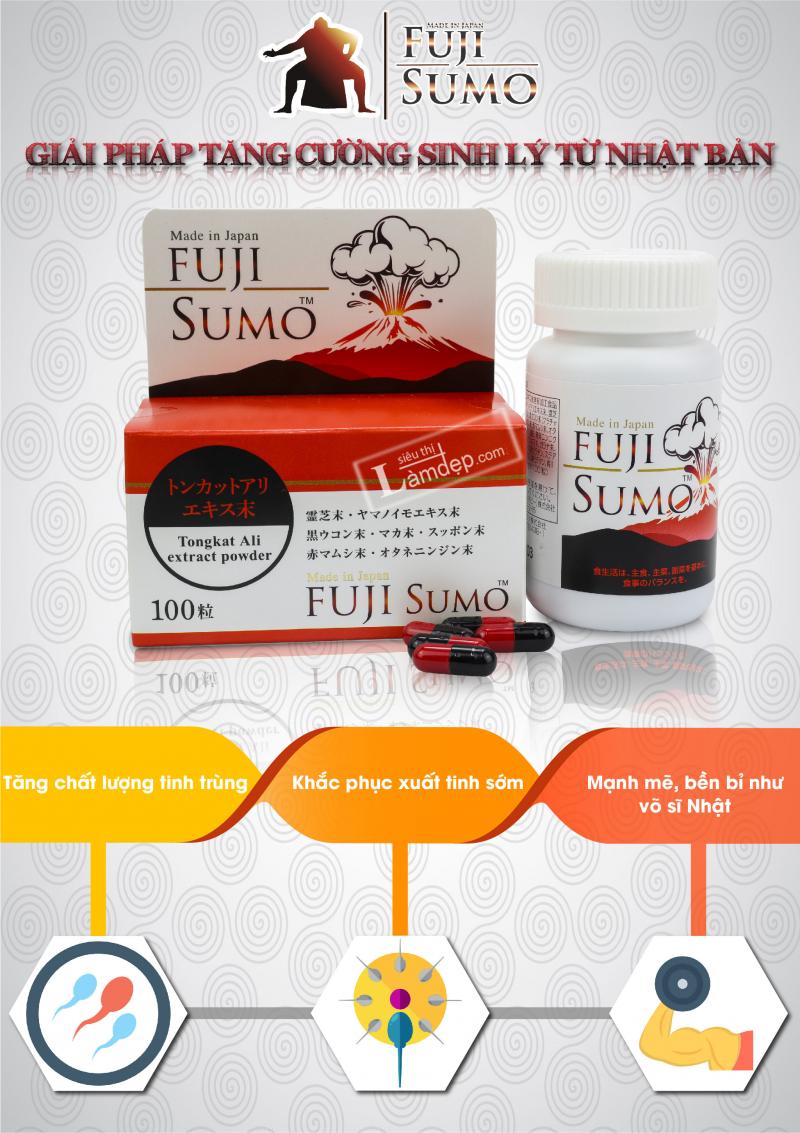 Viên Uống Tăng Cường Sinh Lý Fuji Sumo