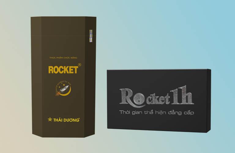 Viên uống tăng cường sinh lý nam Rocket 1h