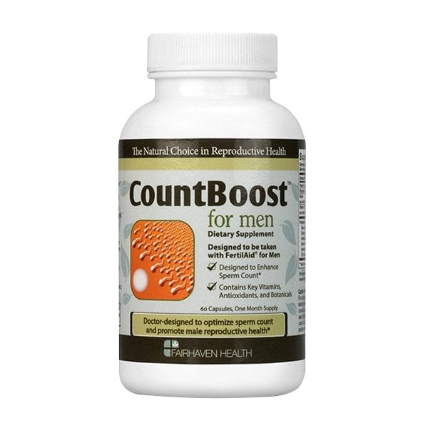 Viên uống tăng số lượng tinh trùng Fairhaven Health CountBoost For Men