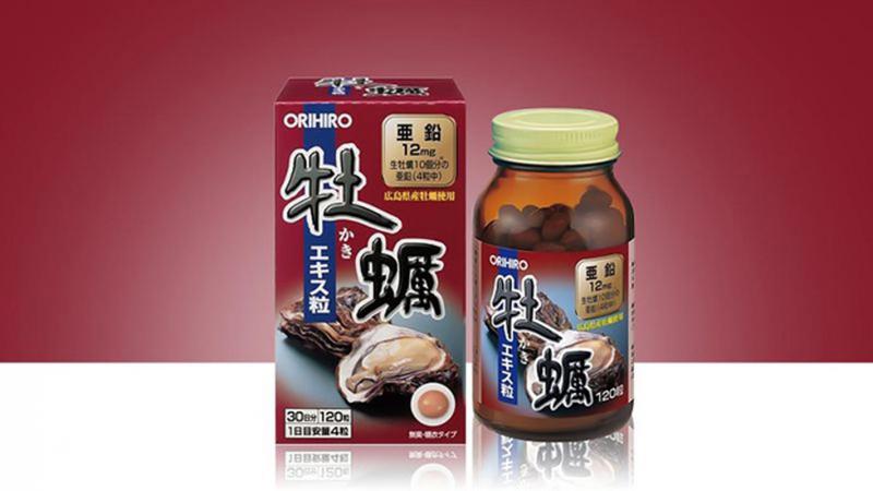 Viên uống tinh chất hàu tươi tăng cường sinh lý Orihiro