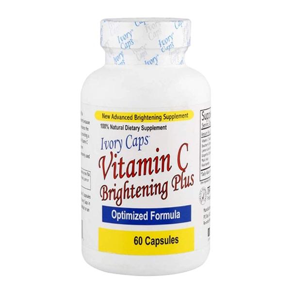 Viên Uống Trắng Da Bổ Sung Vitamin C Ivory Caps Brighten