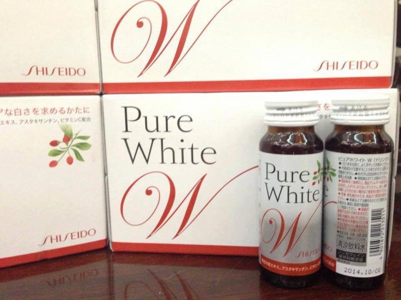 Viên uống trắng da Shiseido Pure White