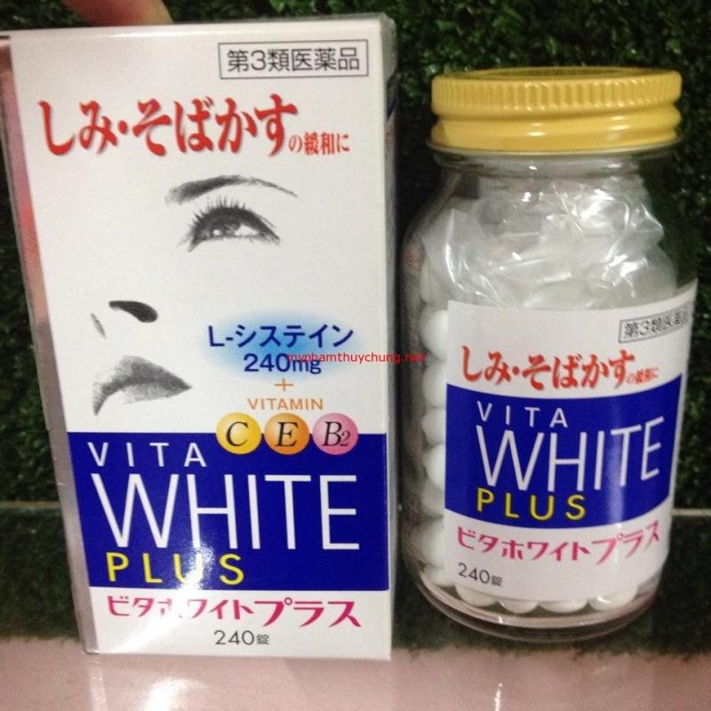 Viên uống trắng da Vita White Plus