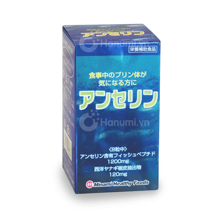 Viên uống trị Gout Nhật Anserine Minami