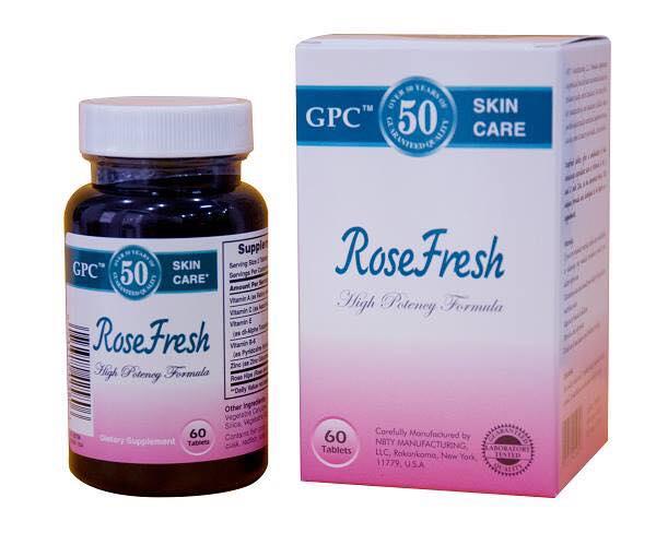 Viên uống trị mụn rosefresh