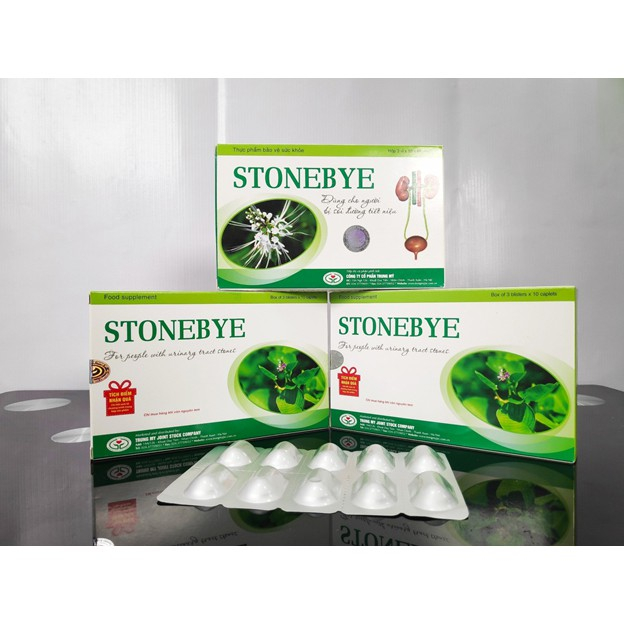 Viên uống trị sỏi thận, sỏi tiết niệu Stonebye